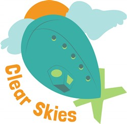 Clear Skies print art