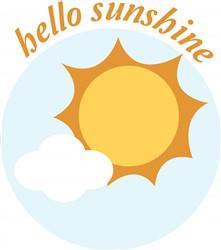Hello Sunshine print art
