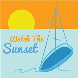 Watch Sunset print art