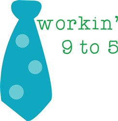 Workin 9 To 5 print art