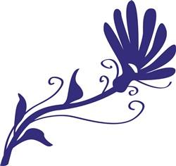 Swirl Flower print art