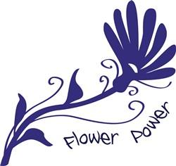 Flower Power print art