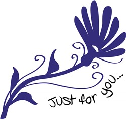 Just For You print art