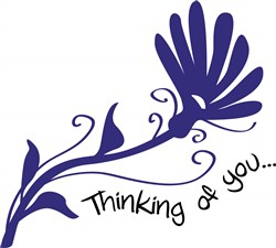 Thinking Of You print art