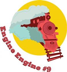 Engine #9 print art