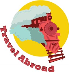 Travel Abroad print art