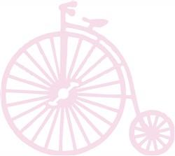 Antique Bike print art