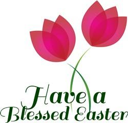 Blessed Easter print art