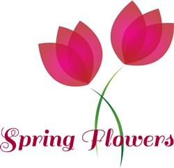 Spring Flowers print art