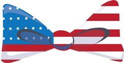 USA Flag Tie print art