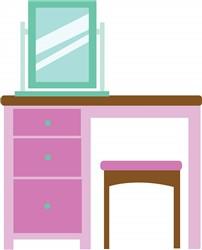 Dressing Table print art