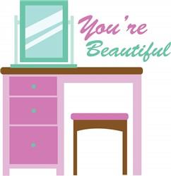 Youre Beautiful print art