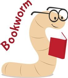 Bookworm print art