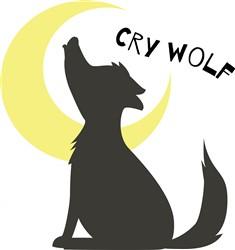 Cry Wolf print art