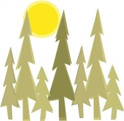 Pine Trees print art