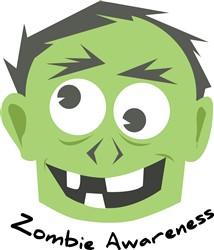 Zombie Awareness print art