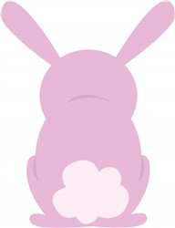 Bunny Rear print art