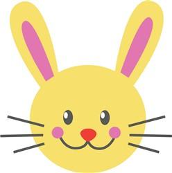 Bunny Face print art