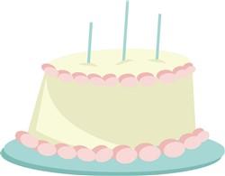 Birthday Cake print art