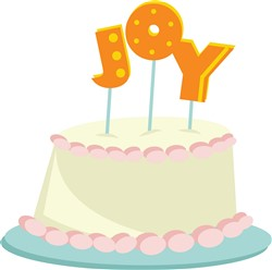Joy Cake print art