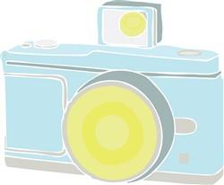 Flash Camera print art