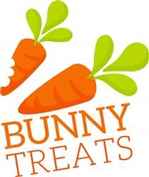 Bunny Treats print art