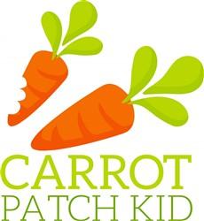 Carrot Patch Kid print art
