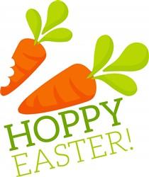 Hoppy Easter print art