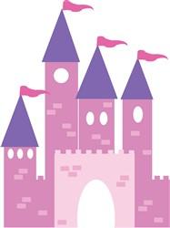 Castle print art