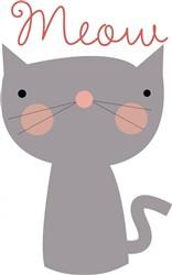 Meow Kitty print art