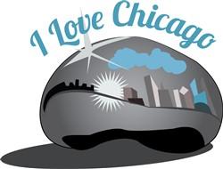 I Love Chicago print art