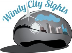 Windy City print art