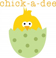 Chick-A-Dee print art