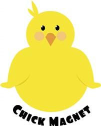 Chick Magnet print art