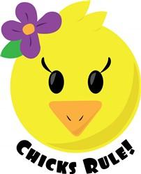 Chicks Rule print art