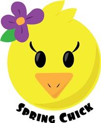 Spring Chick print art
