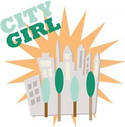 City Girl print art