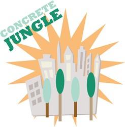 Concrete Jungle print art
