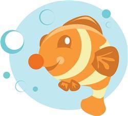 Bubble Fish print art