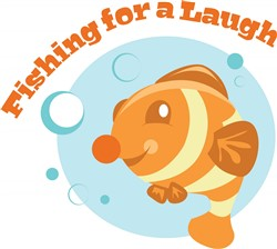 Fishing For Laugh print art