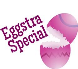 Eggstra Special print art