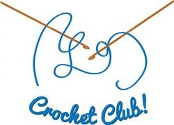 Crochet Club print art