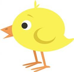 Yellow Chick print art