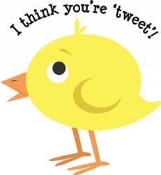 Youre Tweet print art