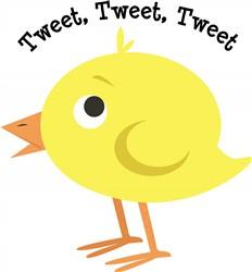 Tweet Tweet print art