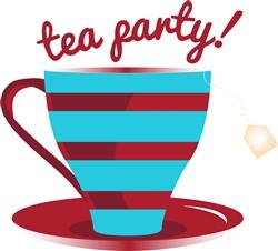 Tea Party print art