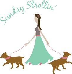 Sunday Strollin print art