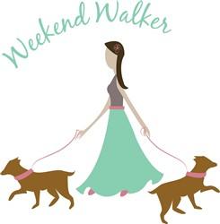 Weekend Walker print art