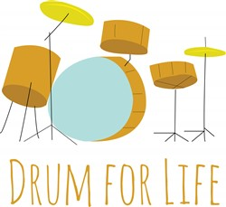Drum For Life print art