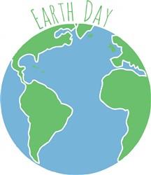 Earth Day print art